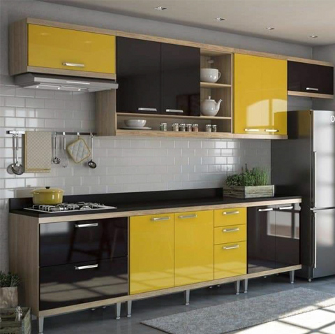 Compact Kitchen For Small Area