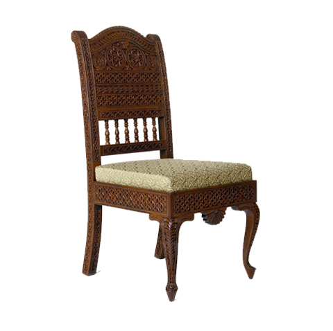 Royal Carving Wooden Chair