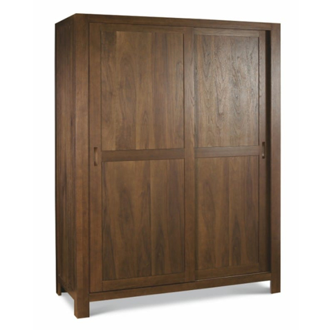 Wooden Wardrobe With Sliders