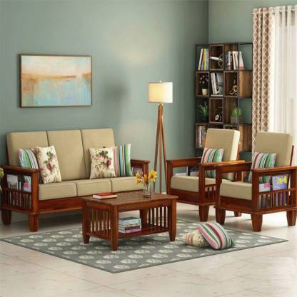 4 Sitter Sofa With Center Table