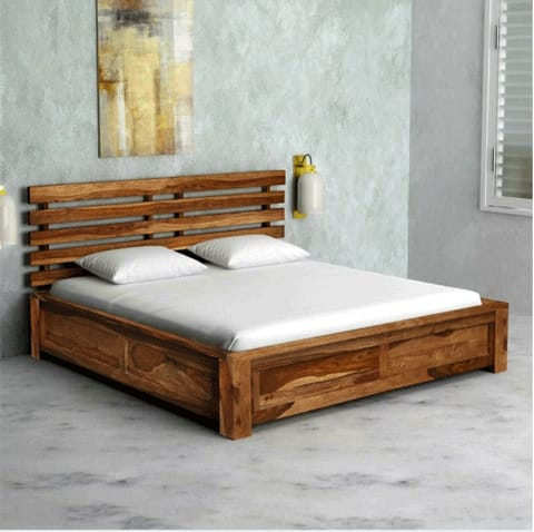 Bed Without Storage Queen Size